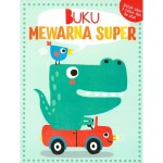 BUKU MEWARNA SUPER 3+