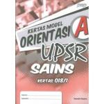 UPSR Kertas Model Orientasi A Sains Kertas 1 (Dwibahasa)