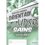 UPSR Kertas Model Orientasi A Sains Kertas 2 (Dwibahasa)