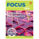 TINGKATAN 4 FOCUS KSSM ADDITIONAL MATHEMATICS