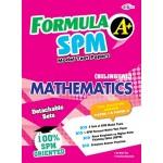 FORMULA A+ MODEL TEST PAPER SPM MATHEMATICS