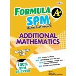 FORMULA A+ MODEL TEST PAPER SPM ADDITIONAL MATHEMATICS