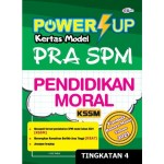 TINGKATAN 4 POWER UP KERTAS MODEL PRA SPM PENDIDIKAN MORAL