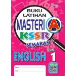 Tahun 1 Buku Latihan Masteri A English