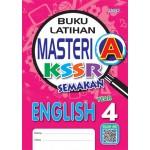 Tahun 4 Buku Latihan Masteri A English