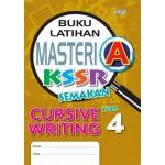 Tahun 4 Buku Latihan Masteri A Cursive Writing