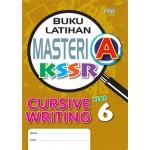 Tahun 6 Buku Latihan Masteri A Cursive Writing