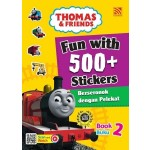 FUN WITH 500+ STICKERS BOOK 2 < BERSERONOK DENGAN 500+PELEKAT (BUKU 2) >