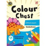 COLOUR CHEST:DINOSAURS(DWIBAHASA)