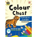 COLOUR CHEST:ANIMALS IN DANGER(DWIBAHASA)