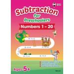 Subtraction for Preschoolers - Numbers 1-20