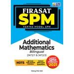 FIRASAT SPM KERTAS MODEL SPM ADDITIONAL MATHEMATICS(BILINGUAL)