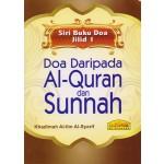 DOA DARIPADA AL-QUR'AN & SUNNAH