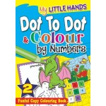 MY LITTLE HANDS: DOT-TO-DOT & COLOUR BY NUMBERS BOOK2