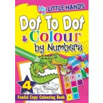 MY LITTLE HANDS: DOT-TO-DOT & COLOUR BY NUMBERS BOOK4
