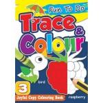 FUN TO DO: TRACE & COLOUR BOOK 3