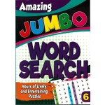 AMAZING JUMBO WORDSEARCH 6 (NEW)
