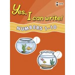 Yes, I Can Write Numbers 1-10