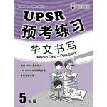 五年级UPSR预考练习华文书写