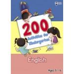 200 Activities for Kindergarten English