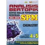 ANALISIS BERTOPIK KSPS SPM CHEMISTRY
