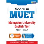 SCORE IN MUET Malaysian University English Test (800/1 - 800/4)