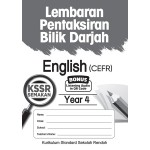 Tahun 4 Lembaran Pentaksiran Bilik Darjah English CEFR