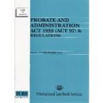 Probate & Admin Act 1959