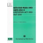 AKTA HAD MASA 1953 (AKTA 254) & LIMITATION ACT 1953