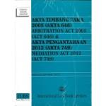 AKTA TIMBANG TARA 2005(AKTA 646)&EV