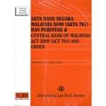 AKTA BANK NEGARA MALAYSIA 2009(AKTA 701)