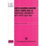 AKTA RAHSIA RASMI 1972