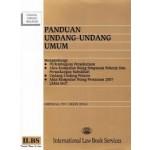 PANDUAN UNDANG-UNDANG UMUM