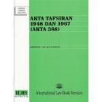 AKTA TAKSIRAN 1948 & 1967 (AKTA 388)