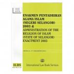 ENAKMEN PENTADBIRAN AGAMA ISLAM