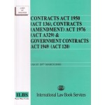 Contracts Act 1950 (ACT 136), Contracts (Amendment) Act 1976 (Act A329) & Government  Contracts Act 1949  (Act120) (As at March'18)