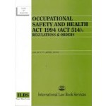 OCCUPATIONAL SAFETY & HEALTH ACT 1994