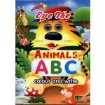 EYE THE ANIMALS ABC COLOUR & WRITE