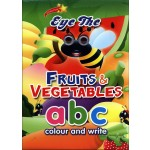 EYE THE FRUITS & VEGETABLES ABC COLOUR & WRITE