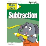 WRITE & LEARN - SUBTRACTION