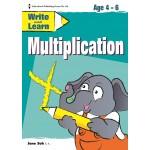 WRITE & LEARN - MULTIPLICATION