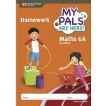 Book 6A My Pals Are Here Maths Homework (3rd Edition)
