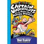 Captain Underpants #4: Perilous Plot Of Prof Poopypants Color Edition