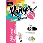 SPM RANGER REVISI CEPAT ADDITIONAL MATHEMATICS