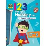 FUN FOR NUR KIDS: 123 ACT BK2(BI/BM)
