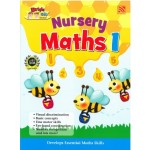 NURSERY BRIGHT KIDS BOOKS - MATHEMATICS BOOK 1