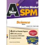 SKOR A+ KERTAS MODEL SPM SCIENCE (BIL)