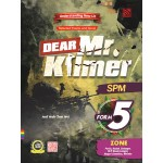 TINGKATAN 5 UNDERSTANDING NEW LIT SELECTED POEMS AND NOVEL DEAR MR.KILMER
