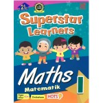 SUPERSTAR LEARNERS-MATHEMATICS/MATEMATIK 1(DWI)