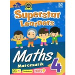 SUPERSTAR LEARNERS-MATHEMATICS/MATEMATIK 4 (DWIBAHASA)